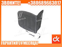 Накидка на сиденье с подогревом черная низкая 12В