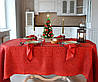 """Льняной столовый комплект """"Фаворит"""" на 6 персон (скатерть 170 на 245 см)"""