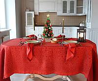 """Льняной столовый комплект """"Фаворит"""" на 6 персон (скатерть 170 на 245 см), фото 1"""