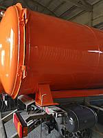 Ассенизаторская бочка ЗИЛ, МАЗ, МАН, ГАЗ 8 - 15 м3 цистерна  вакуумная