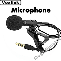 Петличный микрофон Microphone Jack Mic Voxlink