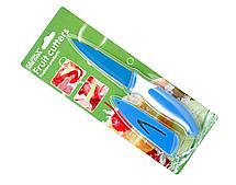 Ніж кухонний для очищення овочів і фруктів HK-1 (синій)