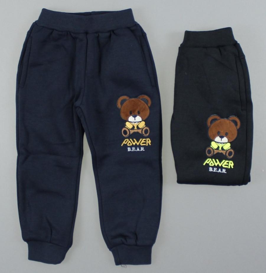 {есть:1 год,3 года,5 лет} Утепленные спортивные брюки для мальчиков S&D,  Артикул: CH5926 [1 год]