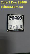 Процессор s775 Intel Core 2 Duo E8400 3.0 Рабочий, без дефектов