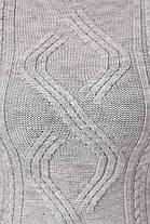 Платье орнамент серое, фото 3