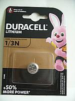 Duracell  CR, DL 1/3N , батарейка литиевая, 3V