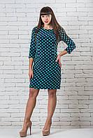 Шикарное платье  женское от производителя 42-52 бирюза