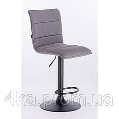 Барне крісло, стілець візажиста  HROVE FORM HR920 сіра тканина