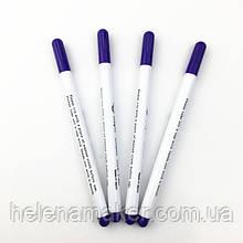 Фиолетовый маркер для ткани, смывается водой