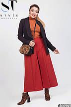 Женский модный костюм двойка (пиджак и кюлоты) /разные цвета, 42-62, ST-56980/, фото 3