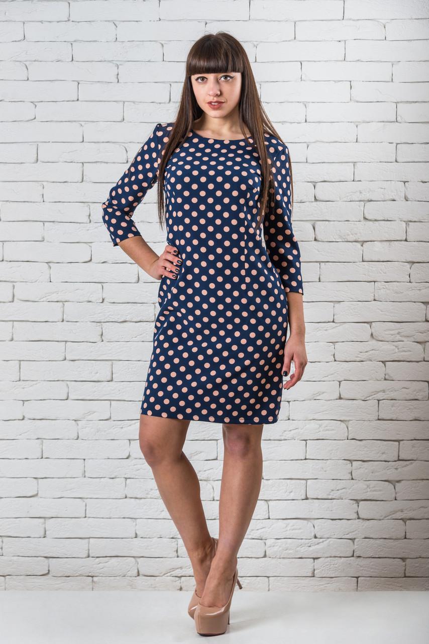 Модные женские платья  42-52 пудра