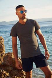 Мужские футболки с V-образным вырезом (61-066-0)