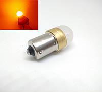 Автолампа светодиодная LED Ceramic, PY21W, 1156, BAU15s SMD3030, 12В, Желтая, фото 1