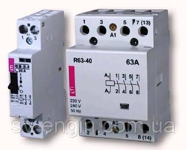R, RD, R-R - монтажные контакторы AC1
