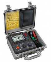 Kyoritsu KEW Model 3128 - Цифровой высоковольтный мегаомметр (измеритель сопротивления изоляции)