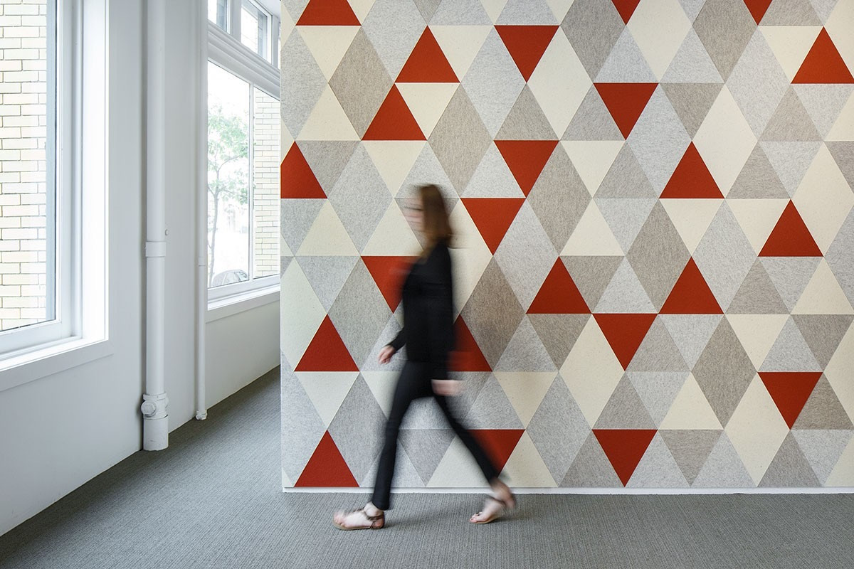 Войлочные стеновые панели