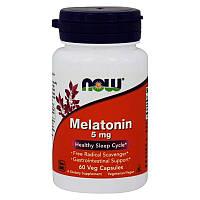Мелатонин Now Foods Melatonin 5 мг 60 капсул
