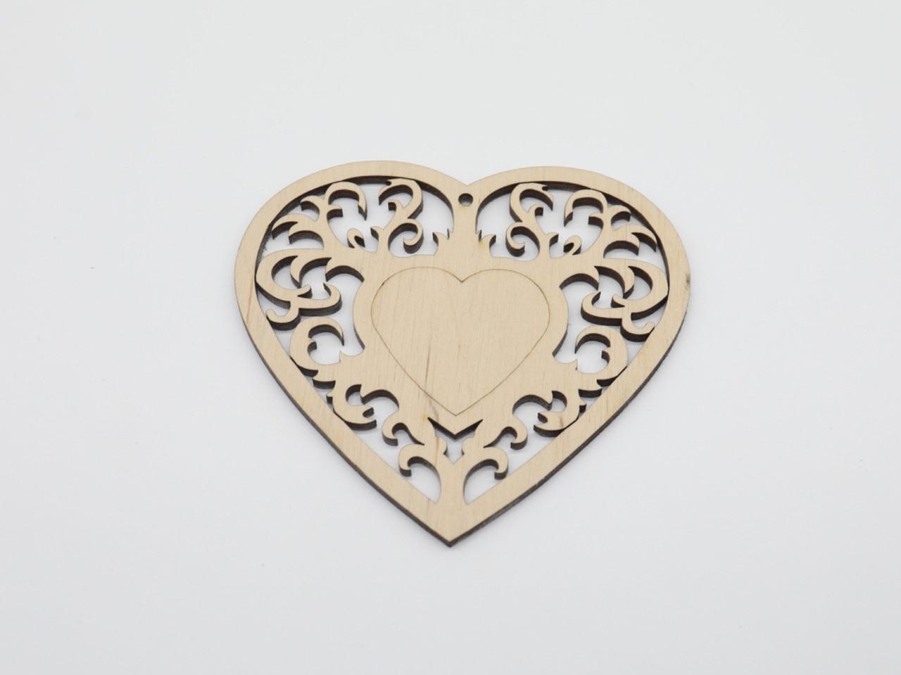 Деревянные заготовки из фанеры. Сердце.