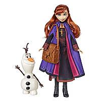 Кукла Анна и Олаф Ледяное сердце 2