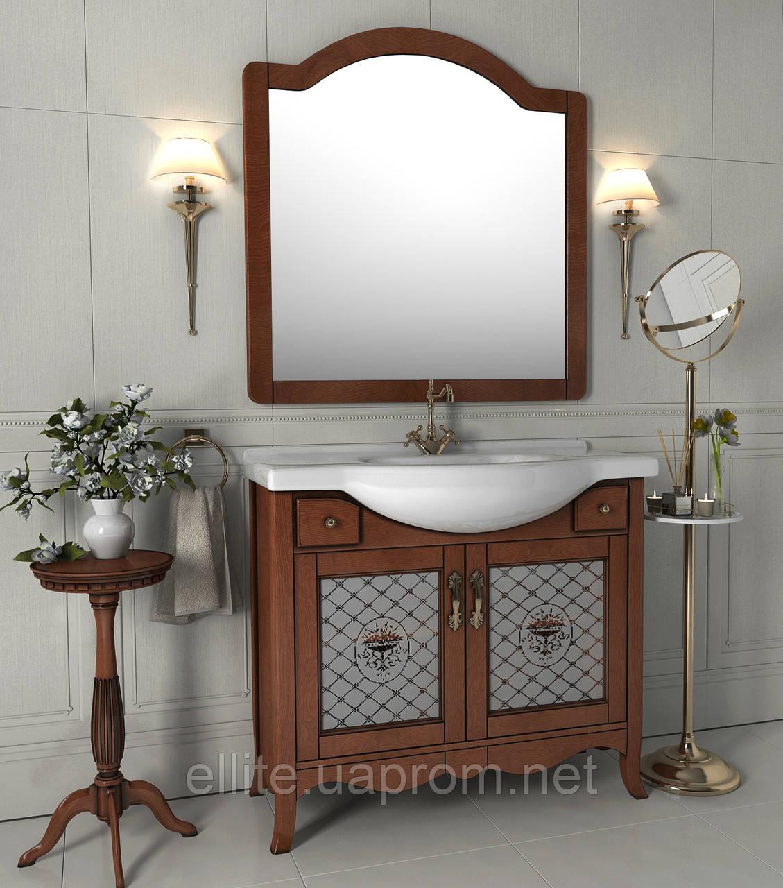 "Тумба и зеркало ""Декор 95"" (керамика)"