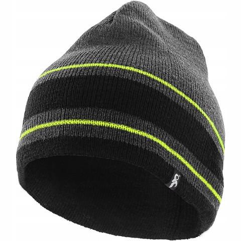 Вязаная шапка CXS SIRIUS (Серый-желтый)