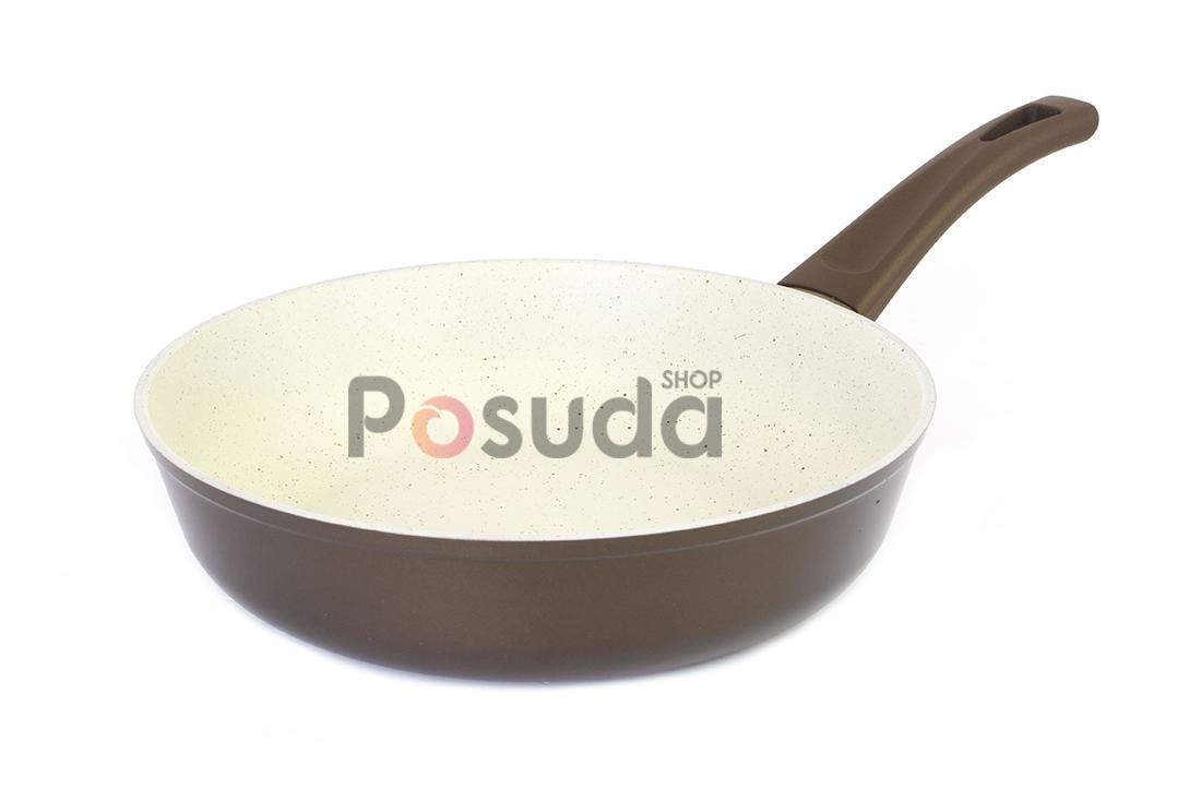 Сковорода антипригарная Биол Классик Декор 22 см 22077П