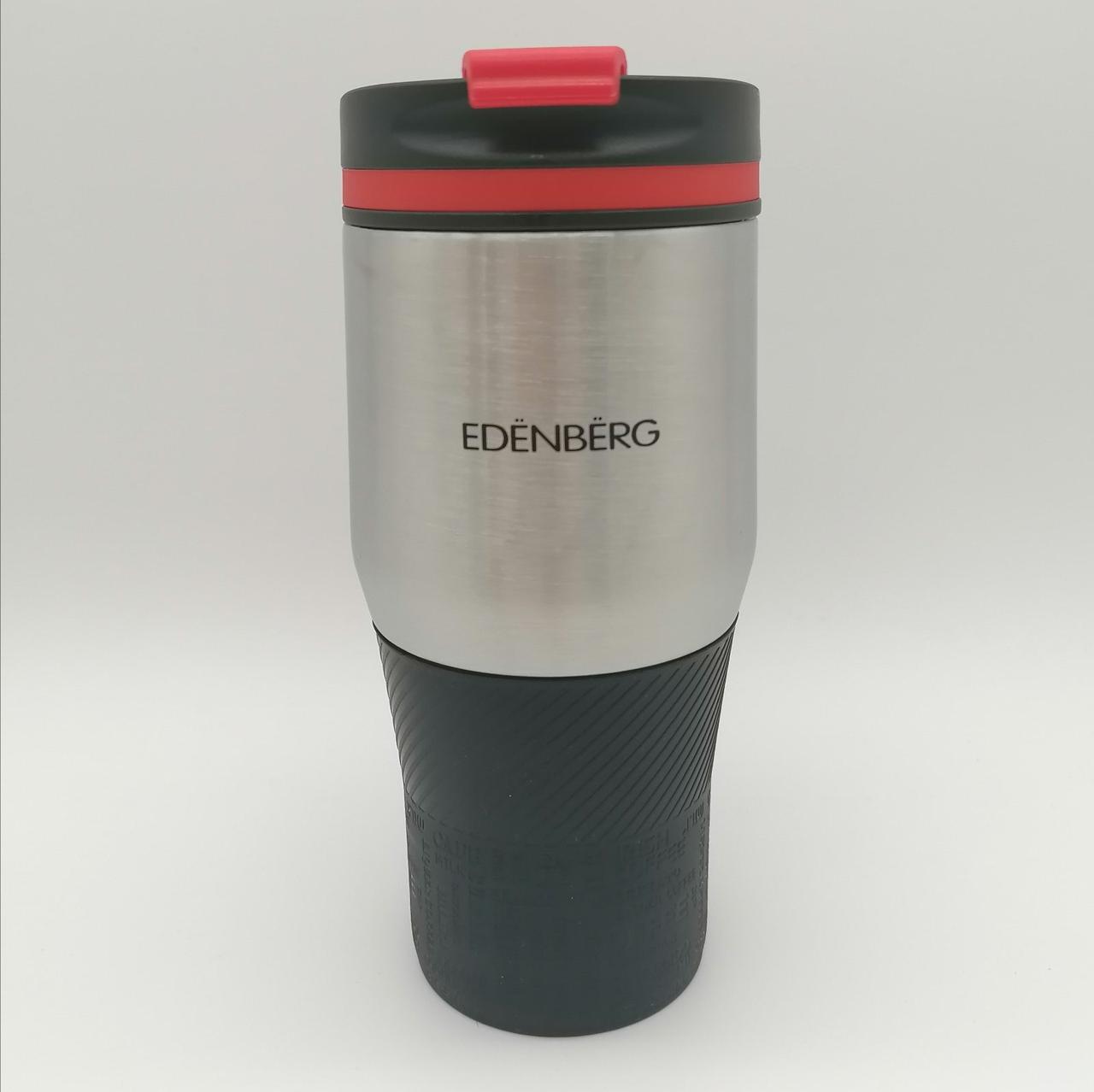 Термокружка Edenberg EB-631-2 кружка-термос 380 мл черная