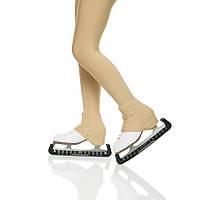 Термолосины на каблук телесные, рост 134