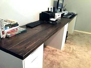Деревянная столешница из массива натурального ясеня для стола