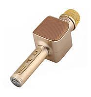 Караоке микрофон беспроводной YS-68 Gold