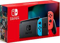 Nintendo Switch Neon blue/red HAC-001(-01) (Новая ревизия)
