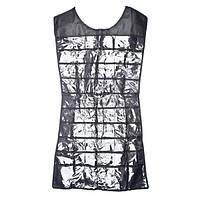🔝 Платье органайзер для украшений Hanging Jewelry Organizer - Чёрное, вешала для бижутерии , Організація господарства