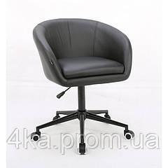 Косметическое кресло HROOVE FORM HR8326K черное