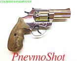 "Револьвер під патрон Флобера Ekol Viper 3"" chrome (дер), фото 6"