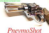 "Револьвер під патрон Флобера Ekol Viper 3"" chrome (дер), фото 5"