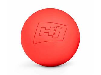 Силіконовий масажний мяч 63 мм HS-S063MB червоний