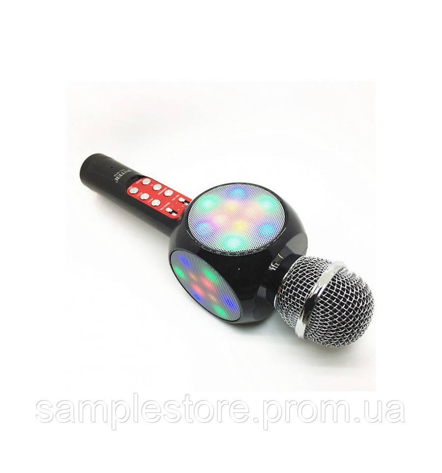 Беспроводной караоке микрофон DM Karaoke 1816 с слотом USB и microUSB