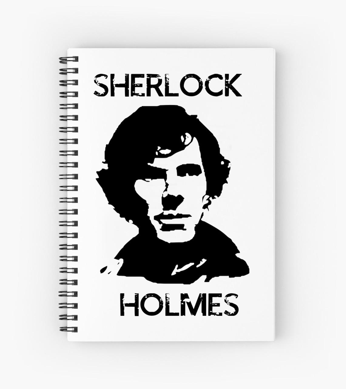 Блокнот Sherlock Holmes 2