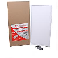 ElectroHouse LED панель прямоугольная 20W 295х595мм.