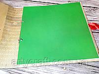 Фотоальбом в деревянной обложке с гравировкой (листы 25х25 см) (прозрачный лак), фото 3