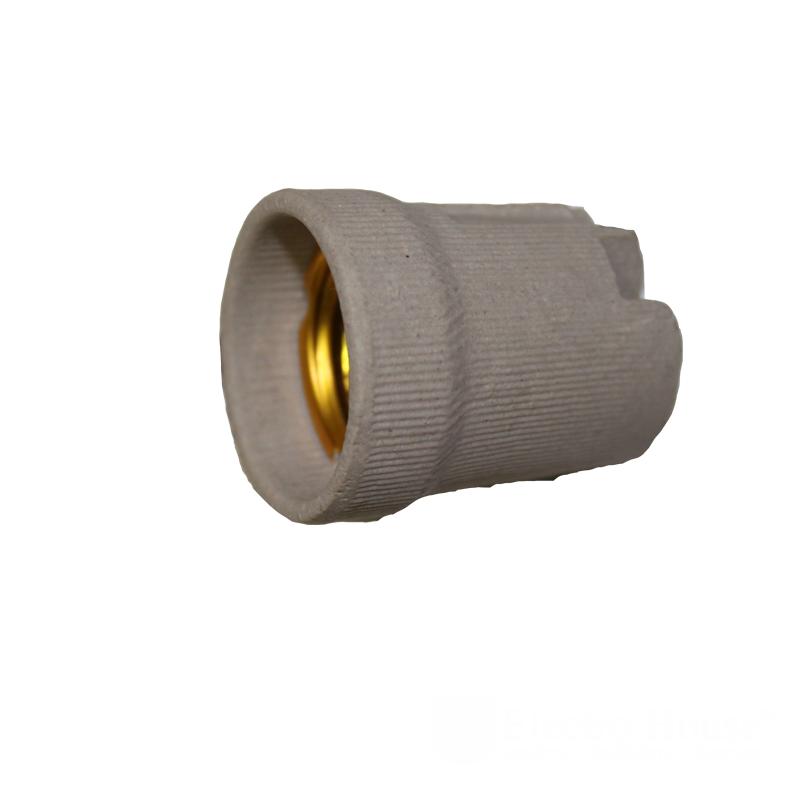 ElectroHouse Патрон керамический без планки E27