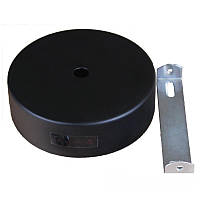 ElectroHouse Настенное крепление черное для трекового LED светильника 15W.