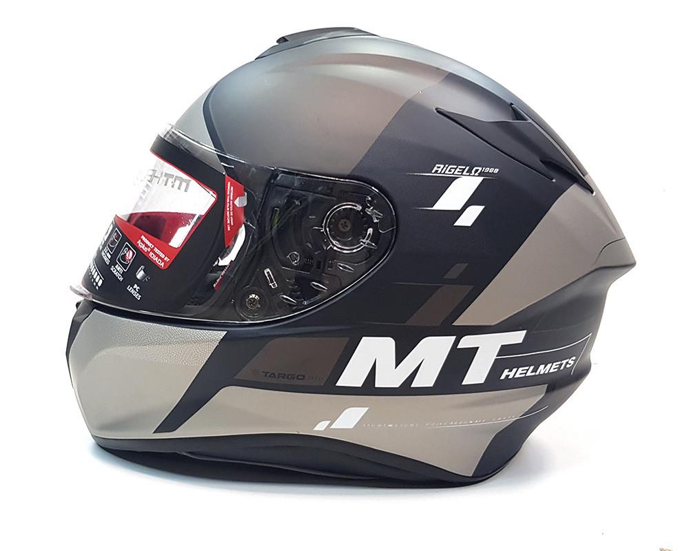 Мотошлем MT Targo Rigel Matt Grey