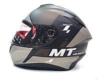 Мотошлем MT Targo Rigel Matt Grey, фото 1