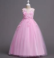 Бальна ніжно рожеве плаття довгеBall Gown Pink Long Dress2021