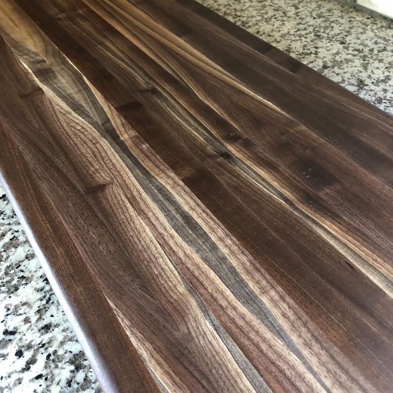 Столешница на кухню из массива благородного дерева бука
