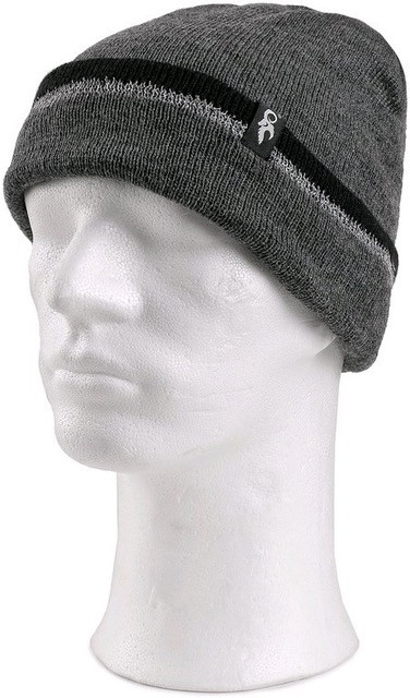 Утепленная вязаная шапка CXS IVAN (Серая)