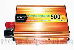 Автомобильный преобразователь напряжения инвертор Power Inverter UKC 500W 12 в 220V от аккумулятора