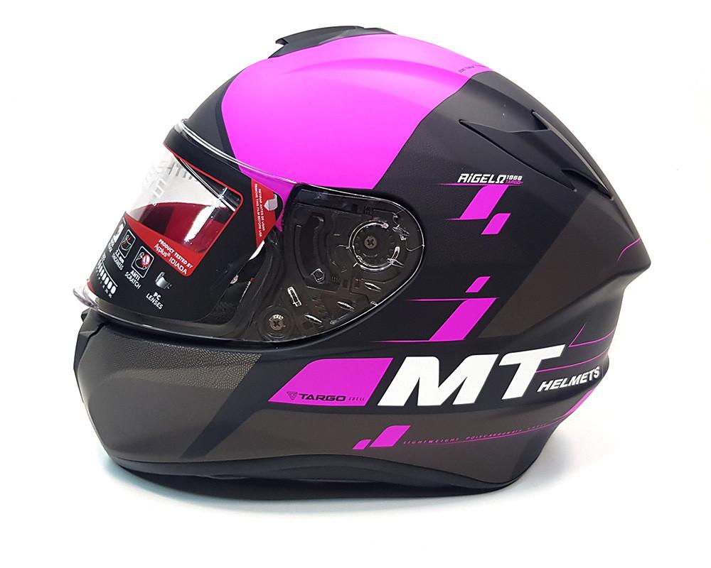 Мотошлем MT Targo Rigel Matt Pink