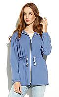 Женская куртка-парка Lilita Zaps голубого цвета. Коллекция весна-лето 2020, фото 1